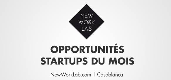 opportunitées startups du mois